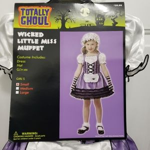 Wicked Little Miss Muffet Costume sz Small